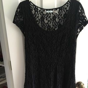 Kimchi Blue Urban Outfitters Black Lace Dress